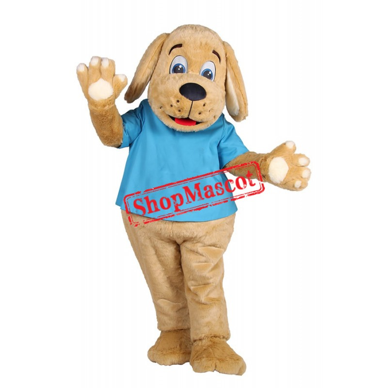 Playful Dog Mascot Costume