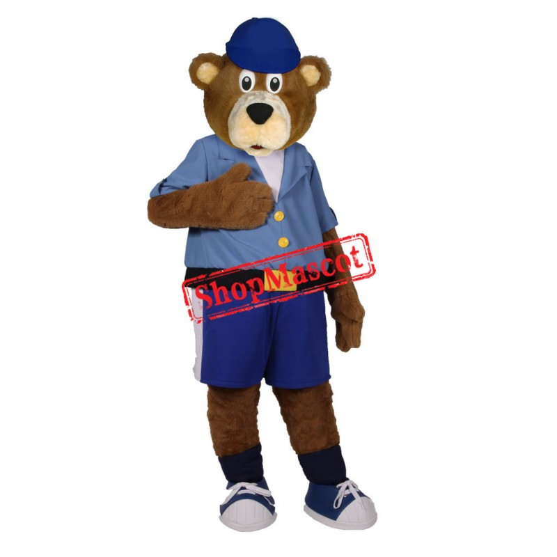 Lovely College Bear Mascot Costume