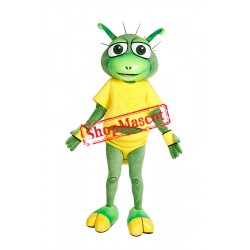 Green Bug Mascot Costume