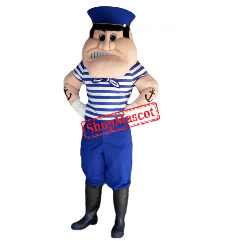 Realistic Sailor Mascot Costume