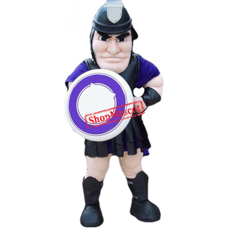 Power Spartan Warrior Mascot Costume