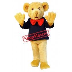 Lovely Yellow Bear Mascot Costume