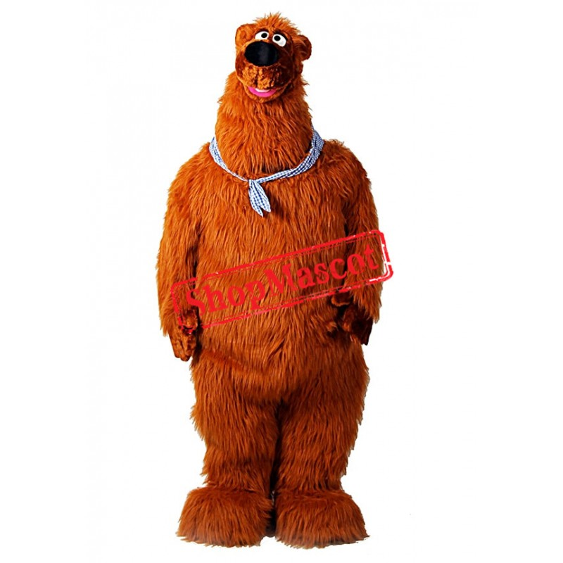 Bear in the Woods Mascot Costume