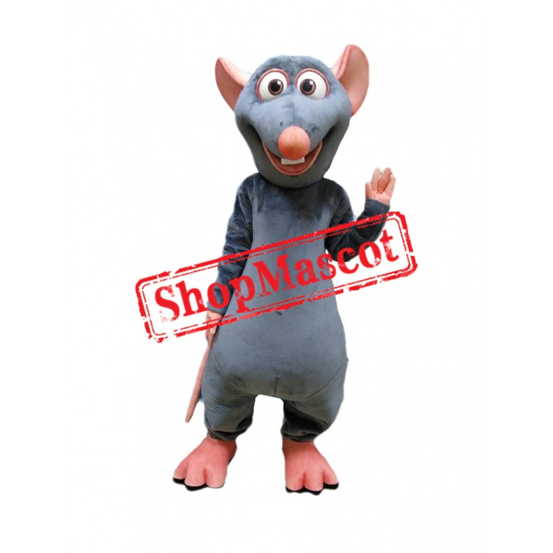 Ratatouille Mouse Mascot Costume