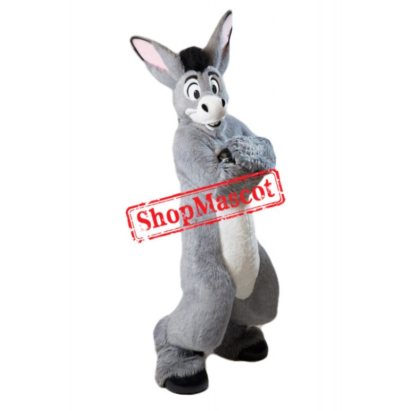 Super Cute Donkey Mascot Costume