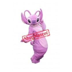 Pink Angel From Lilo & Stitch Mascot Costume