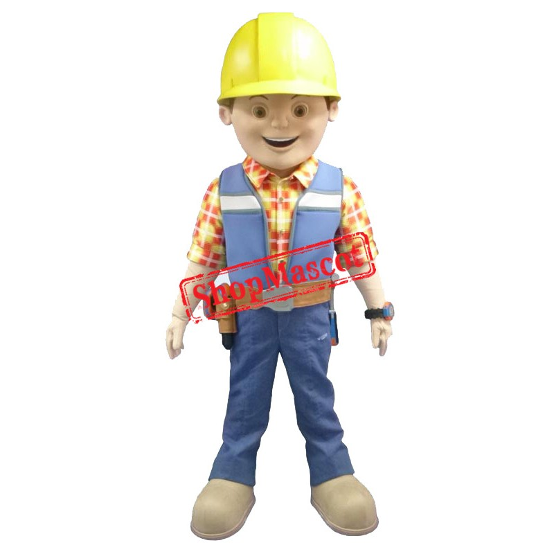 The Builder Mascot Costume