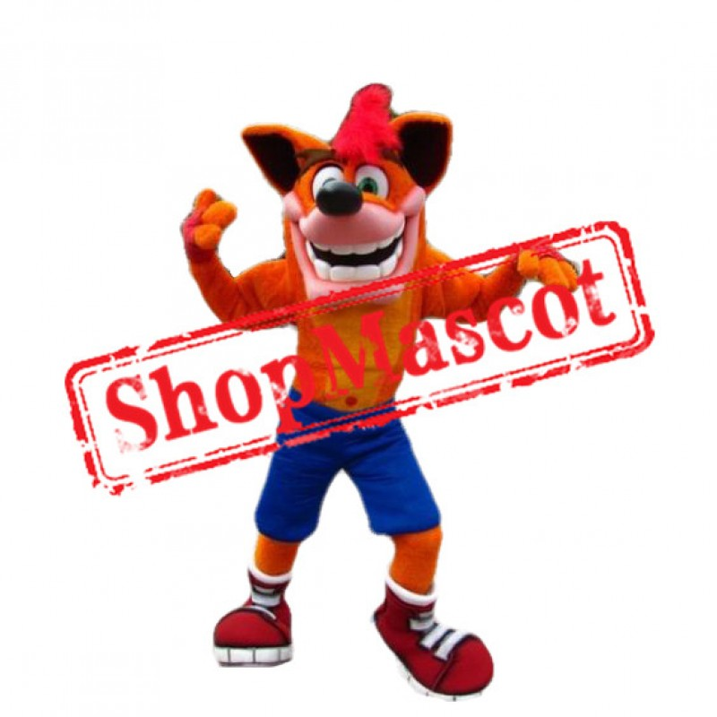Crash Bandicoot Mascot Costume
