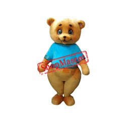Lovely Teddy Bear Mascot Costume