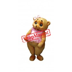 Beautiful Teddy Bear Mascot Costume