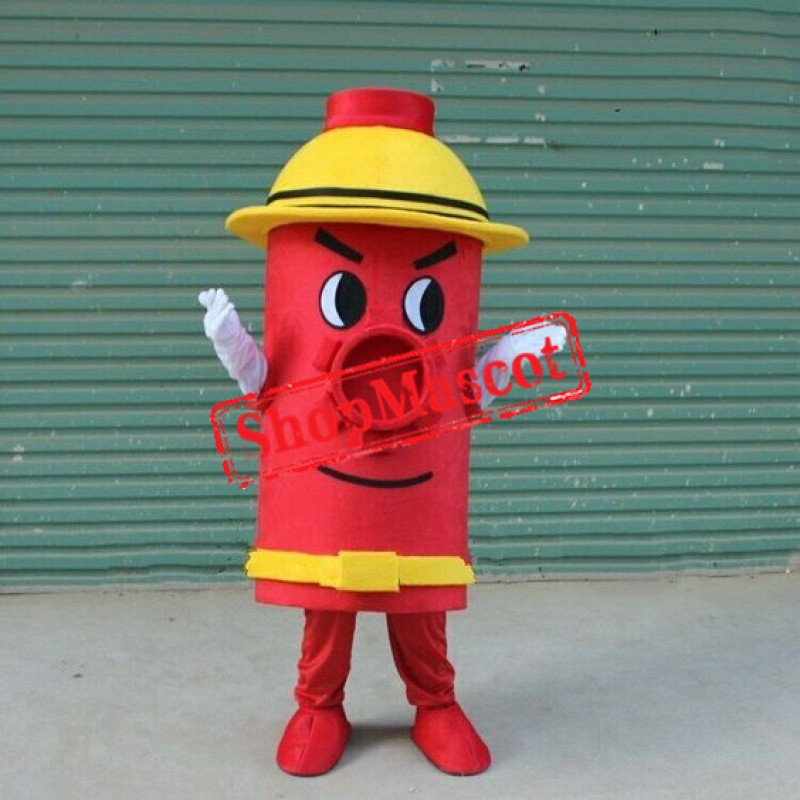 Cheap Fire Hydrant Mascot Costume