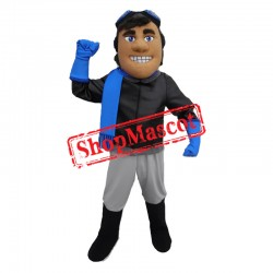 Handsome Aviator Mascot Costume