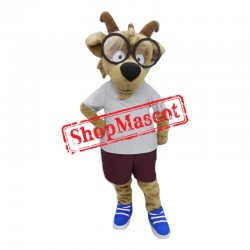 Learned Goat Mascot Costume