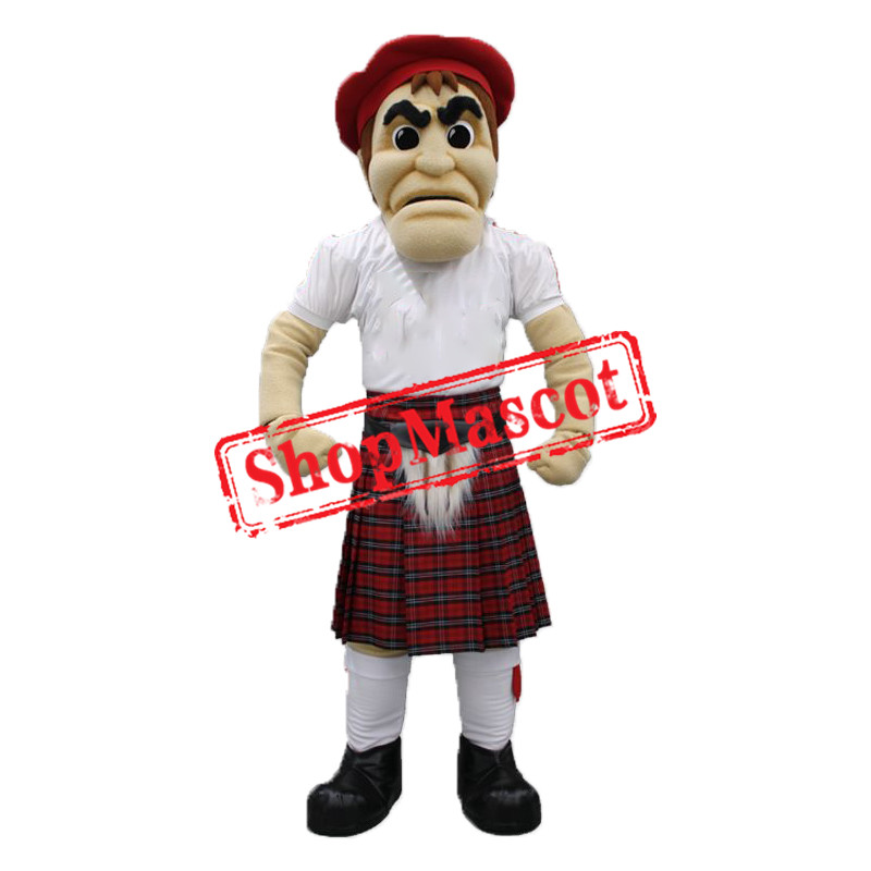 High School Highlander Mascot Costume