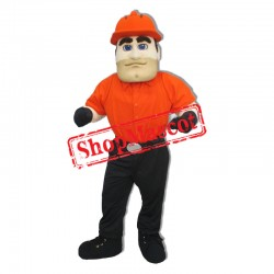 Power Engineer Mascot Costume