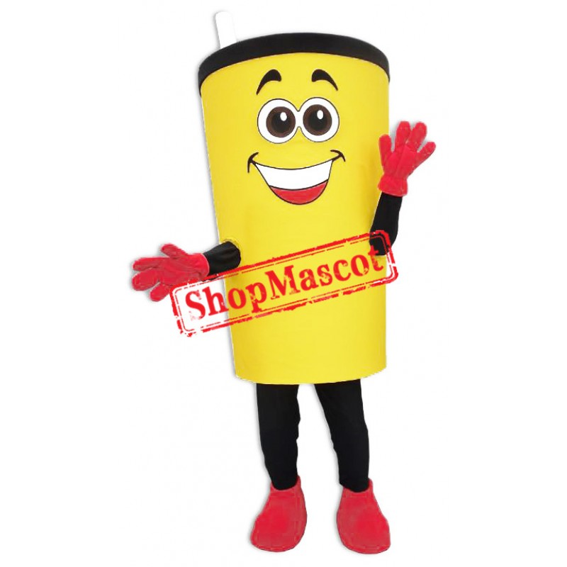 Happy Lightweight Cup Mascot Costume