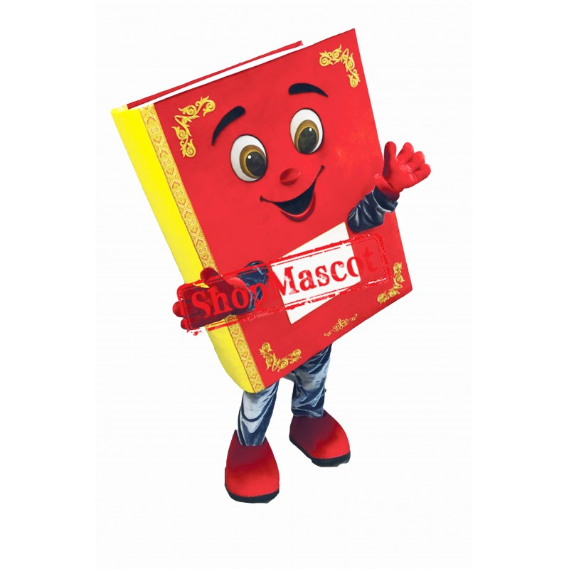 Red Books Mascot Costume