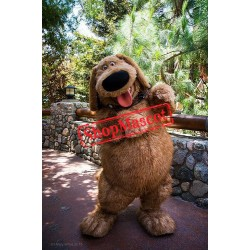 Super Cute Brown Dog Mascot Costume