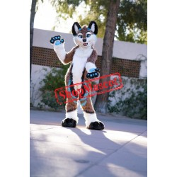 Dog Fox Wolf Mascot Costume