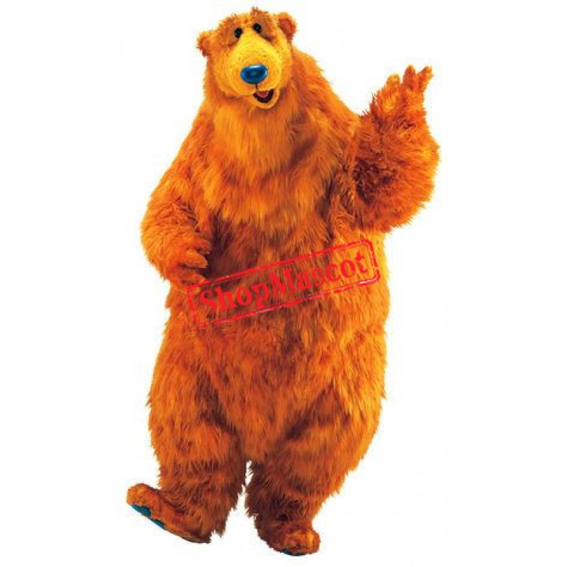 Super Cute Brown Bear Mascot Costume