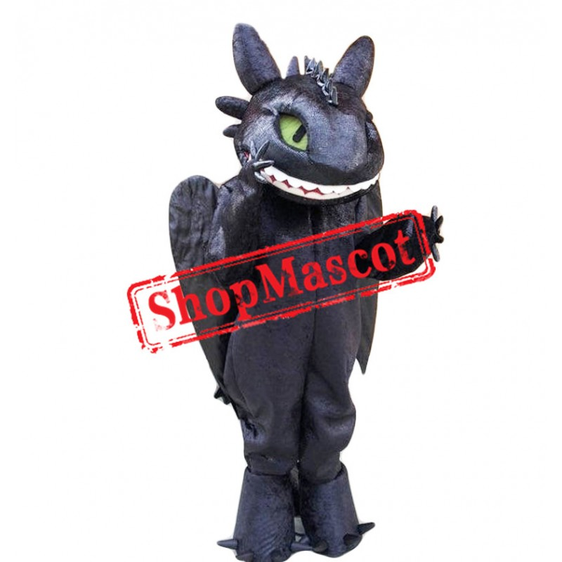Dragon Toothless Mascot Costume