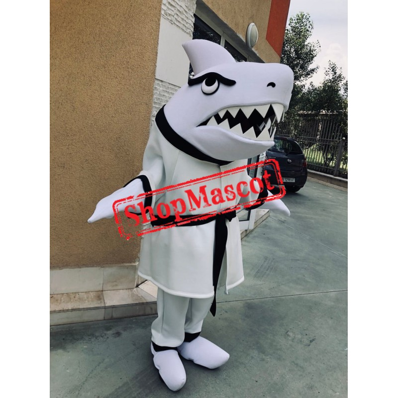 School Shark Mascot Costume