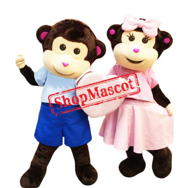 Super Lovely Monkey Mascot Costume