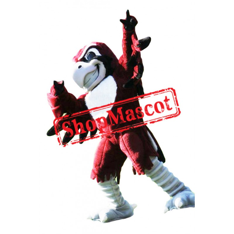 Sport Red Eagle Mascot Costume