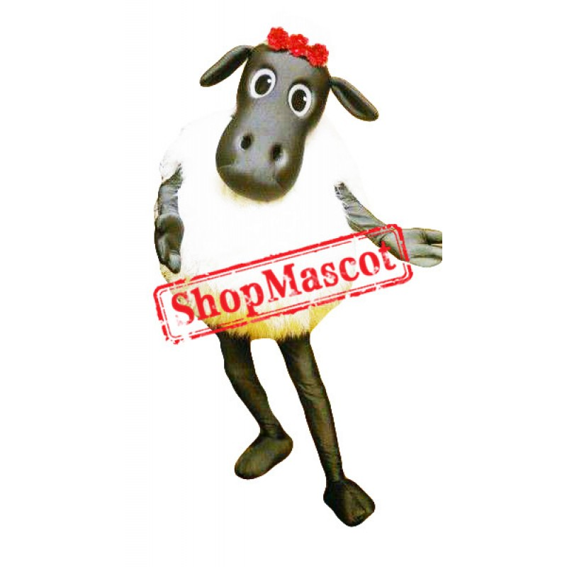 Beautiful Sheep Mascot Costume
