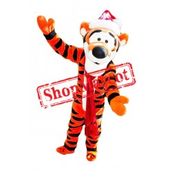 Christmas Winnie The Pooh Tiger Mascot Costume