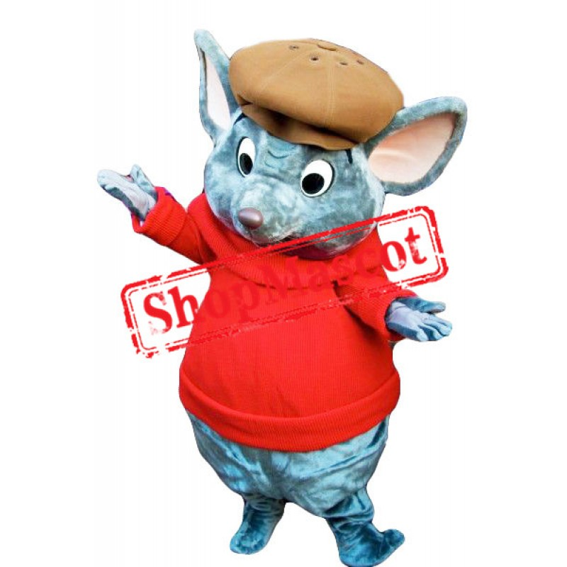 Cool Mouse Mascot Costume