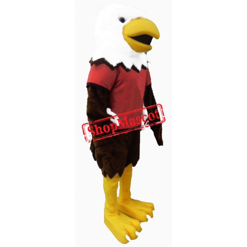 Power High School Eagle Mascot Costume