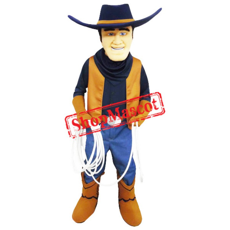 Young Cowboy Mascot Costume