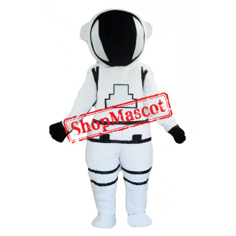 White Spaceman Mascot Costume