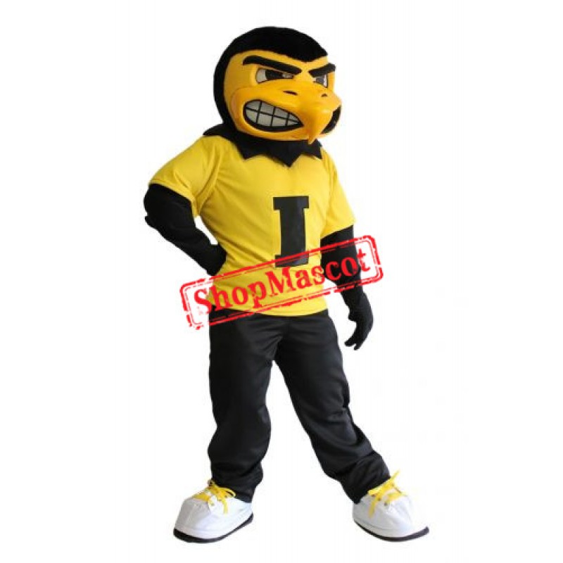 University of Iowa Herky Mascot Costume