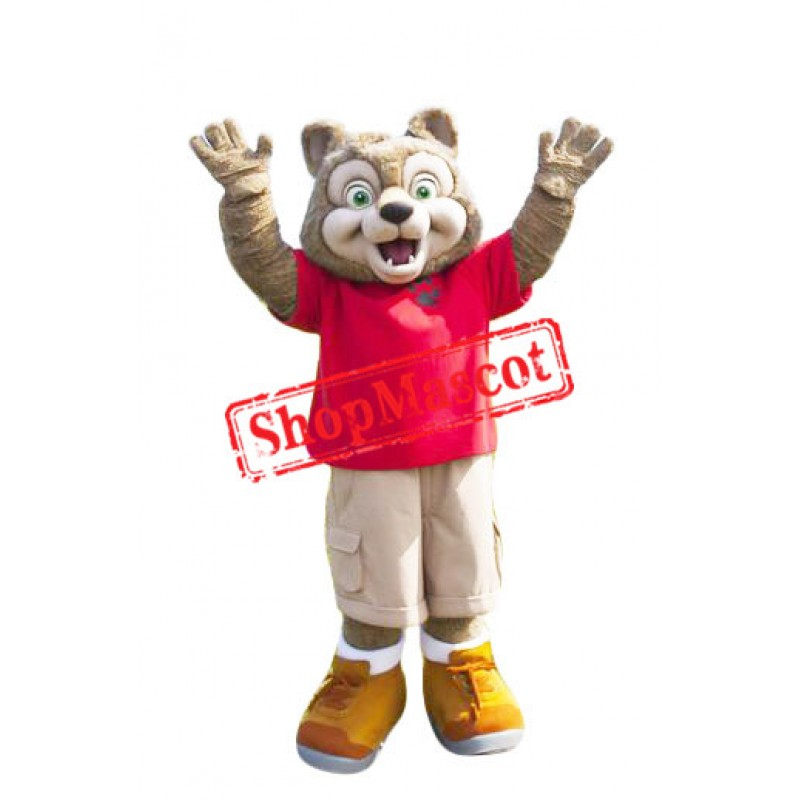 Wiley The Wolf Mascot Costume