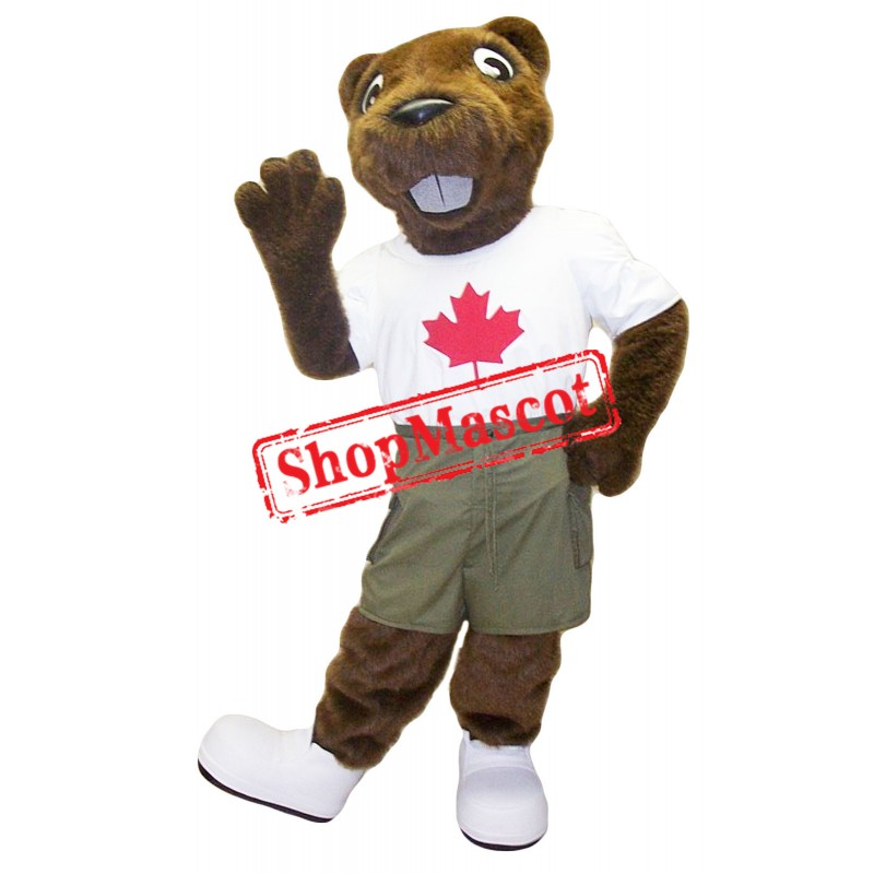 Lovely Beaver Mascot Costume