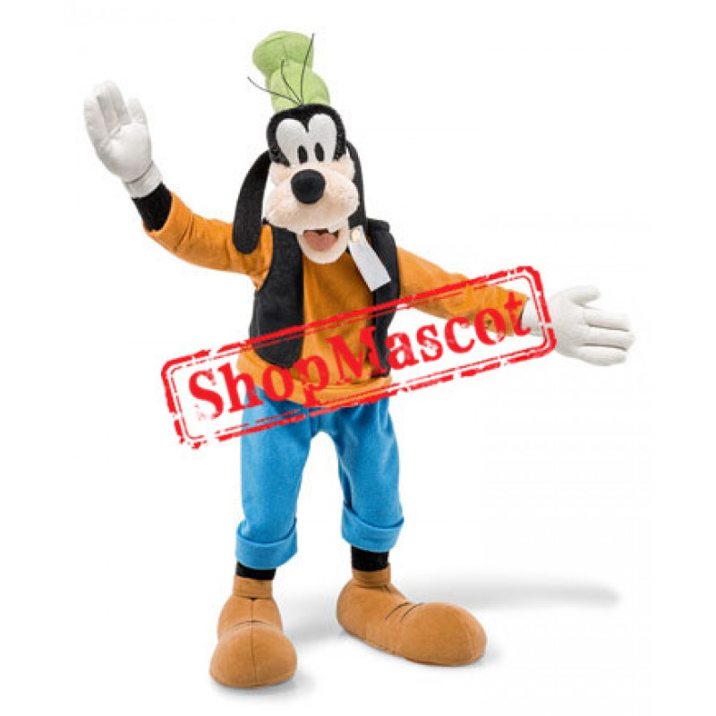 Happy Lightweight Goofy Mascot Costume