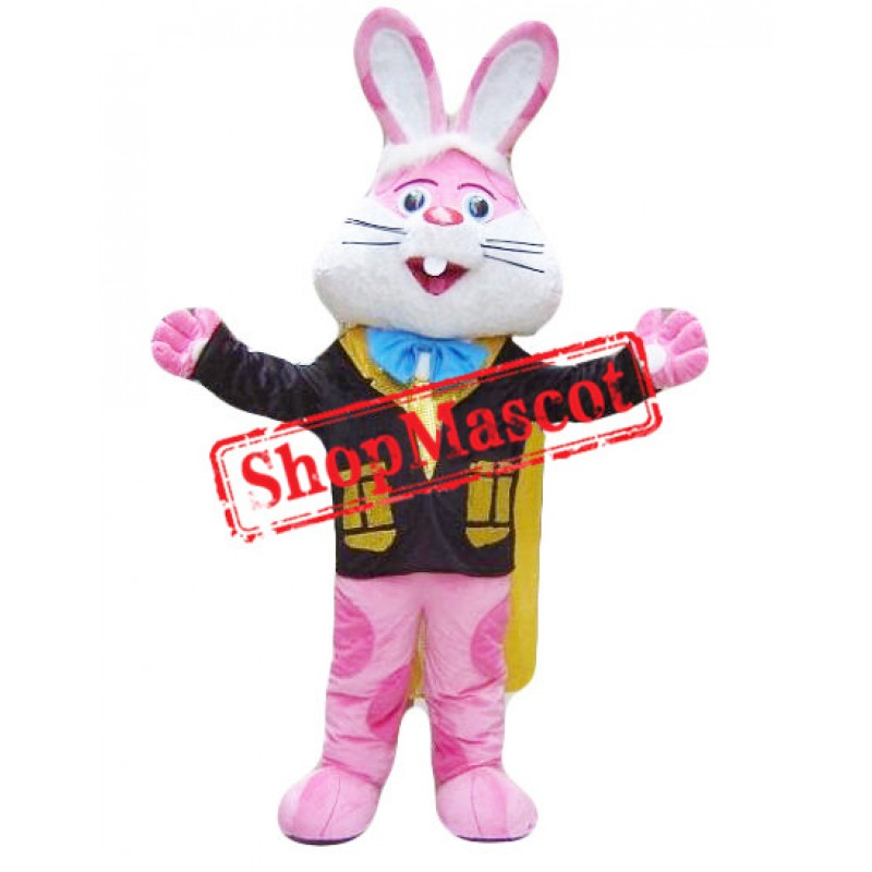 Animal Pink Rabbit Mascot Costume