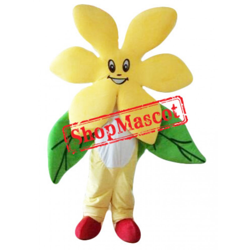 Flower Moving Mascot Costume