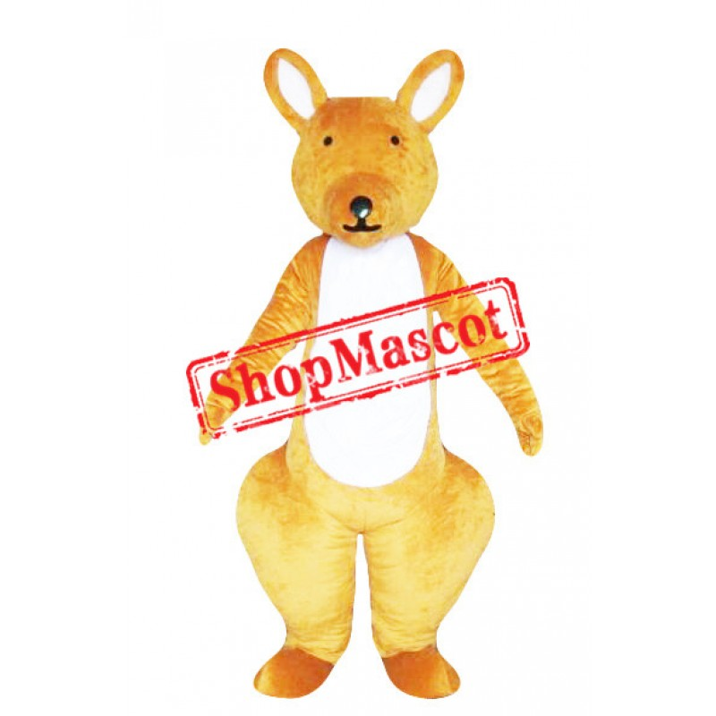 Cute Kangaroo Adult Mascot Costume