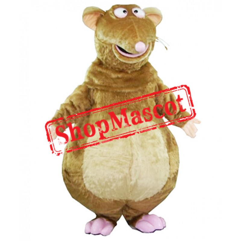 Funny Brown Mouse Mascot Costume