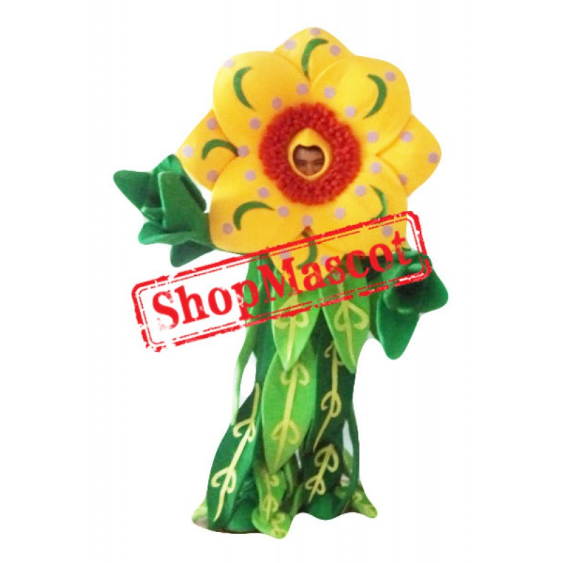 Beautiful Flower Mascot Costume