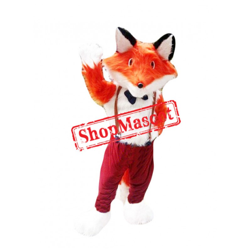 Halloween Fox Mascot Costume