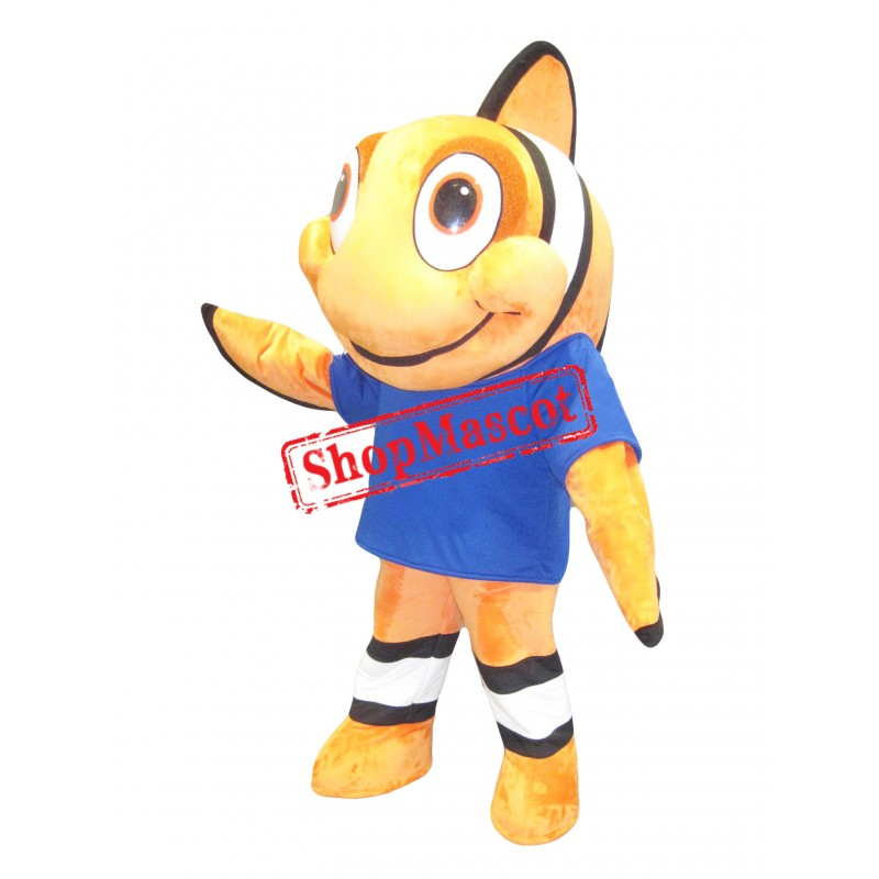 Superb Clownfish Mascot Costume
