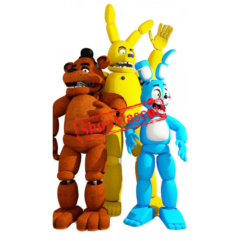 Five Nights At Freddy's Mascot Costume