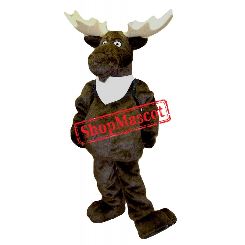 Lovely Moose Mascot Costume