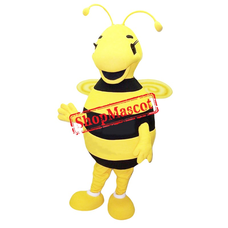 Cute Female Bee Mascot Costume
