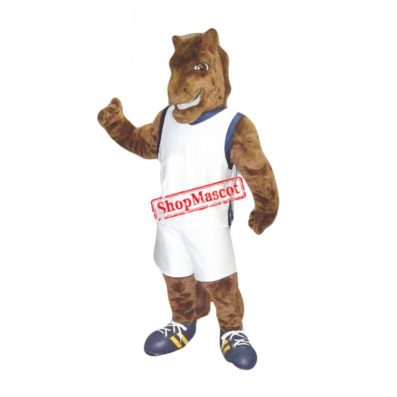 Power Sport Horse Mascot Costume