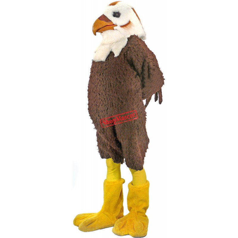 Superb Hawk Mascot Costume